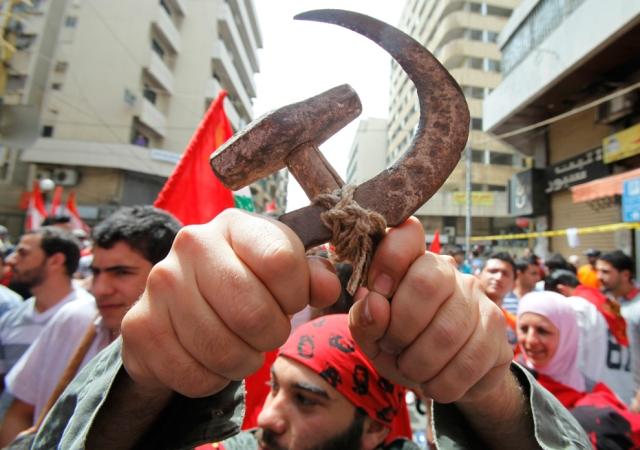 1º de Maio de 2012 no Líbano.