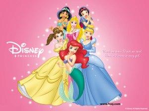"""""""Existe uma princesa em toda menina""""."""