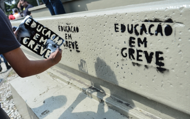 BRAZIL-PROTEST-TEACHERS-STRIKE
