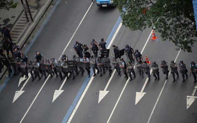 BRAZIL-PROTEST-TEACHERS-STRIKE