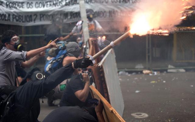 Brazil Teachers Strike