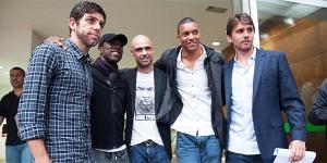 Paulo André (Corinthians), Dida (Grêmio), Juninho Pernambucano (Vasco), Cris (Vasco) e Seedorf (Botafogo) estão entre as lideranças desse movimento dos jogadores por mudanças no futebol brasileiro