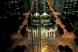 Manifestação de junho de 2013 no Rio de Janeiro