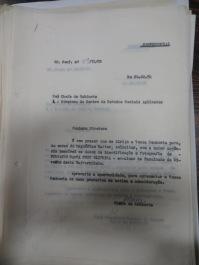 Pedido à universidade de informações sobre Fernando Santa Cru