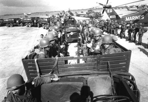 Marines americanos em 1965 na República Dominicana