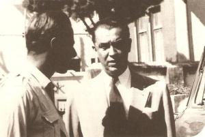Murilo Mendes e Juscelino Kubistchek