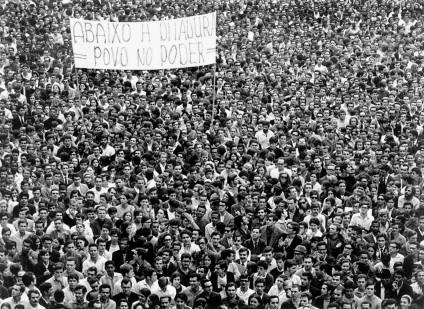 Passeata dos cem mil (foto: Evandro Teixeira)