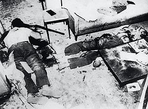 Ação Militar coordenada pelo Coronel Brilhante Ulstra que destruiu o Comitê Central do PCdoB em São Paulo em 1976.
