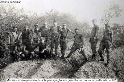 Militares no Araguaia.