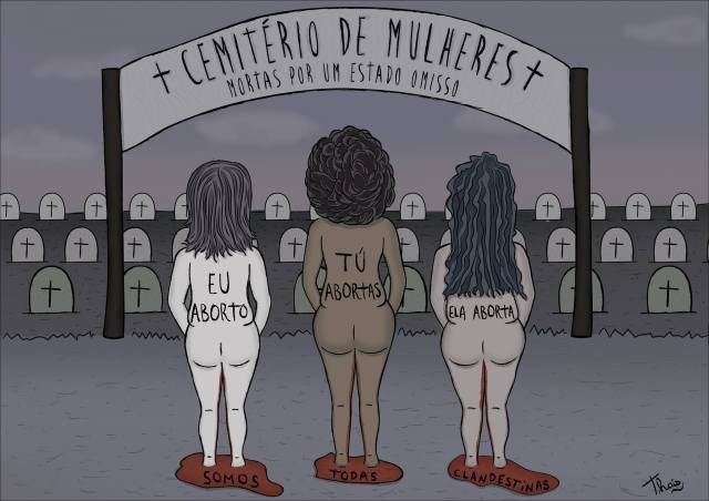 Ilustração de Thais Almeida Rocha