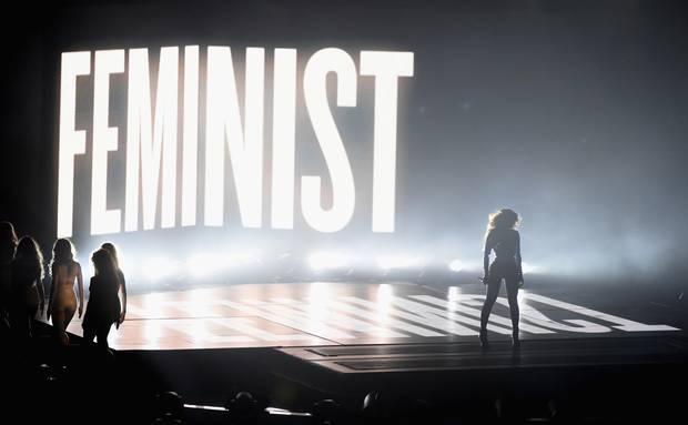 Apresentação de Beyoncé no VMA 2014.