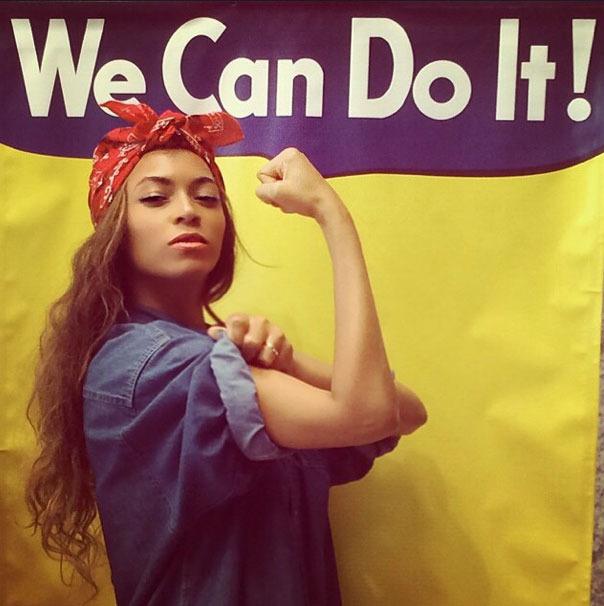 Foto postada por Beyoncé.