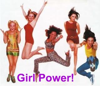 Nos anos 1990, as Spice Girls também reivindicaram o poder feminino.