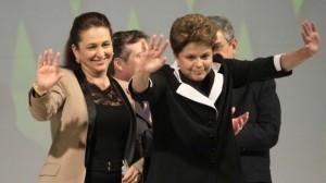 Dilma e Katia Abreu