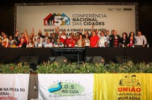 Conferencia nacional das cidades