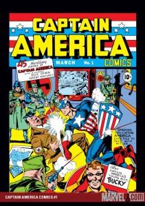 Lidar com o nazismo era um caso de tolerância? (Imagem da foto: Captain America Comics Nº 1 de 1941