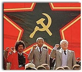 Inicialmente o horizonte de luta do partido de Nelson Mandela era de inspiração socialista