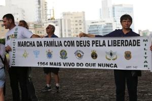 Manifestantes em São Paulo pretendem reeditar a