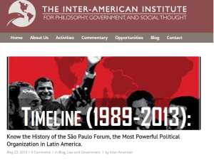 """Know the history of the São Paulo Forum, the Most Powerful Political Organization in Latin America."""