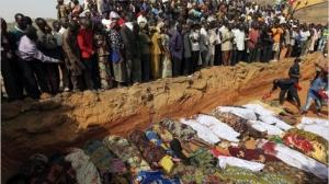Vítimas da violência na Nigéria