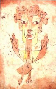 Quadro de Paul Klee, no qual Benjamin vê o anjo da História.
