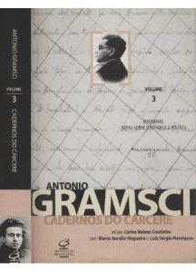 Um dos volumes da edição brasileira dos Cadernos do cárcere gramscianos