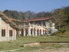 Área de estudo da ENFF, onde se concentram as salas de aula.