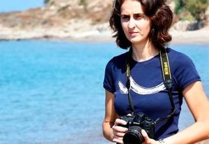 A fotógrafa Niüfer Demir