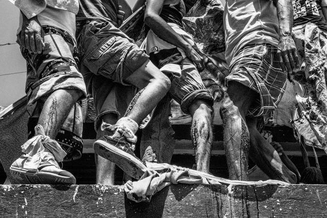 O fotógrafo catalão Sebastián Liste frequentou por semanas uma prisão na Venezuela para realizar apenas um trabalho. Foto: Sebastián Liste
